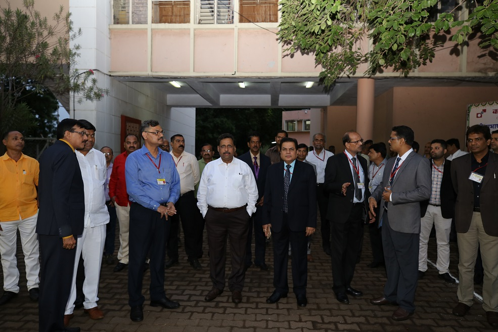 CNP Visit of Shri Subhash Chandra Garg,Secretary ,DEA,Ministry of Finance and  Ms. Tripti Patra Ghosh, CMD